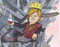 Tyrion Lannister- Game of Thrones Caricature