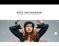 ania holthausen logo + business card | 2018