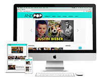 ANDPOP.com Website Redesign
