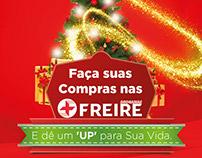 Campanha de natal drogarias Freire