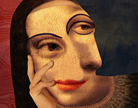 Mona Lisa - What if Picasso painted the Mona Lisa