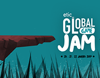 Etic Global Game Jam Illustration