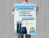 Cartel Concursillo - ANPE Comunidad Valenciana