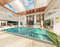 Pool Room in a new multi million pound property