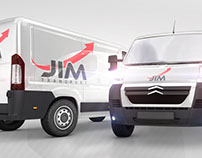 JIM Transport | Logo design