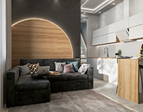 Apartment design Lithuania Vilnius