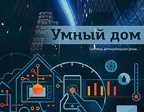 """Умный дом """"Cadena"""" (Система автоматизации дома)"""