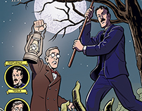 """""""Herald: Lovecraft & Tesla"""" #4 comic preview pages"""