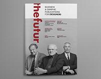 TheFutur Magazine - Design School Project