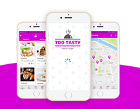 Too Tasty Mobile App