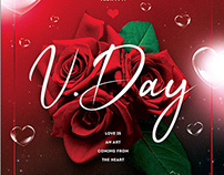 Valentines Day Flyer Template V20