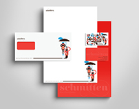Schmitten Chocolates: Corporate Identity (Stationery 1)