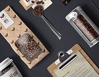 30+ Awesome Coffee Branding & Packaging Mockups