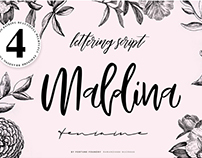 Maldina 4 Fonts