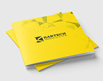 Kartech Catalog Design