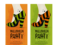 Halloween Party Banners | Designed for Freepik