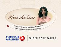 Meet The Star - Turkish Airlines Facebook Aplication