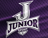 JUNIOR SPORT identity