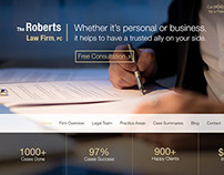 Law Firm site
