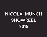 Nicolai Munch Showreel 2015