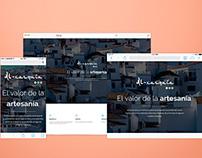 Al-xarquía - Landing Page