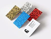SERRA & SÁEZ · Personal Logo and Business Cards