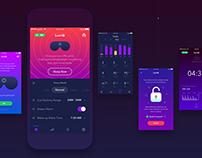 LuciQ - App UI UX Design