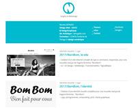 Nicolasgervais.fr / UI-UX / Identité / 2014