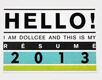 Dollcee's Resume 2013 :)