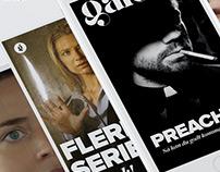 Galore Magazine - Mobile magazine concept