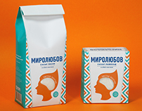 Mirolubov. Sugar package