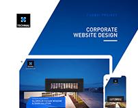 UX/UI Corporate Website Design