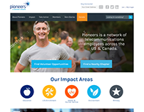 Pioneers Website