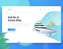 Header Illustration - Cruise Ship