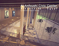 Al-Anfoushi Civic Center Interior project Design