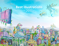 Best illustrations 2017