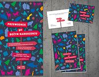 Christmas guide - exhibition design
