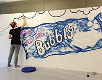 The Bubbly Wall