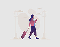 Traveler Illustration 02