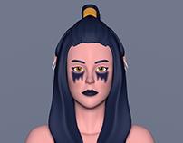 Centaur Face Texturing