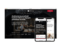 Ambiente restaurant group – website redesign