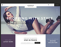 Jonas - Woocommerce Brand Shop WP Theme