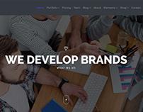 Zenith WordPress Theme - Revolution Slider Banner