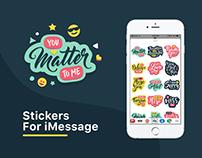 YouMatter : iMessage Sticker Pack