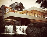 Fallingwater by Frank Lloyd Wright