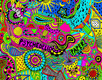 psychedelic paper