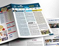 Creative School Newsletter Designs