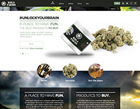Cannabis WebLayout