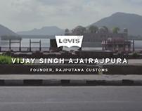 Levis: Vijay Singh Ajairajpura I We Are Original