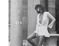 Lookbook & Website Design | SIR the label
